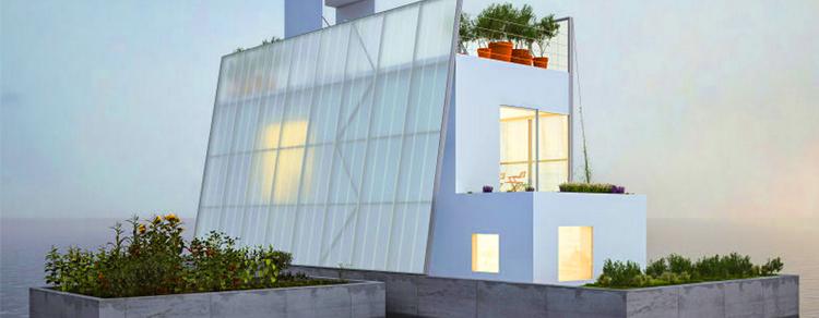 Casa móvel e anti-inundação é projetada por arquiteto inglês