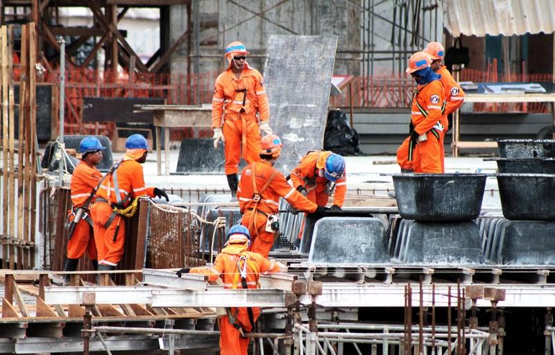 O mercado da construção no mundo e no Brasil