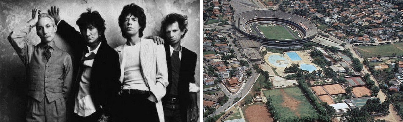 Estádio do Morumbi e Rolling Stones? Essa história tem mais de 23 anos